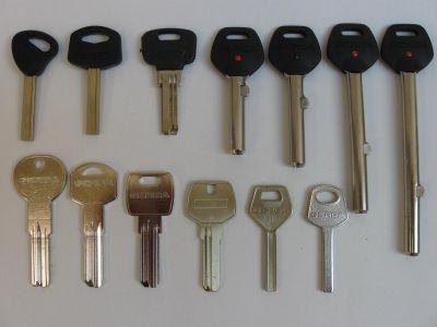 Dorobienie klucza gerda